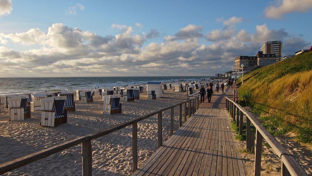 Sylt - Westerländer Strandpromenade II