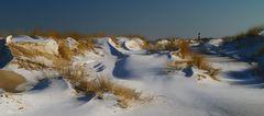 Sylt-winterliche Dünenlandschaft auf denEllenbogen