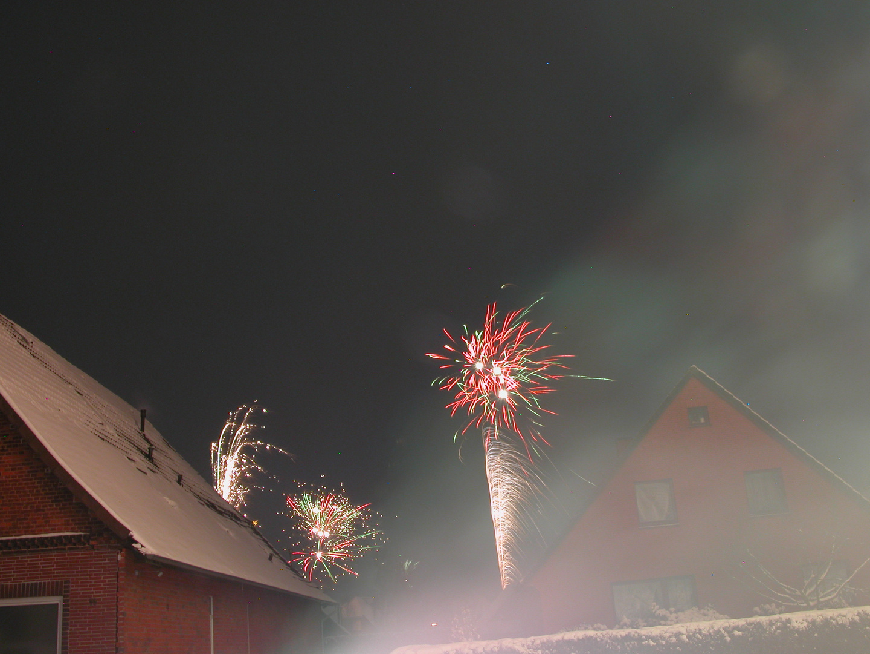 Sylvester 2010 Feuerwerk