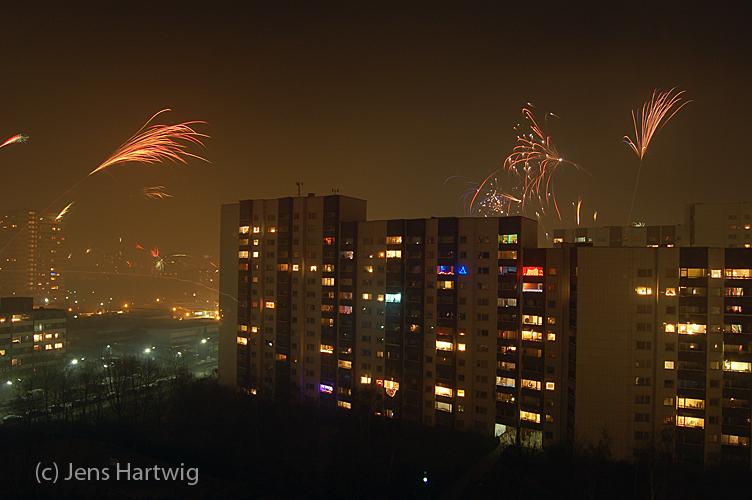 Sylvesternacht in Berlin