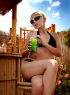 Sylwia - and now a cold drink V