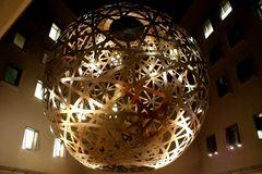 Symbolisierte Weltkugel...