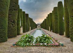 Symmetrie in der Gartenarchitektur