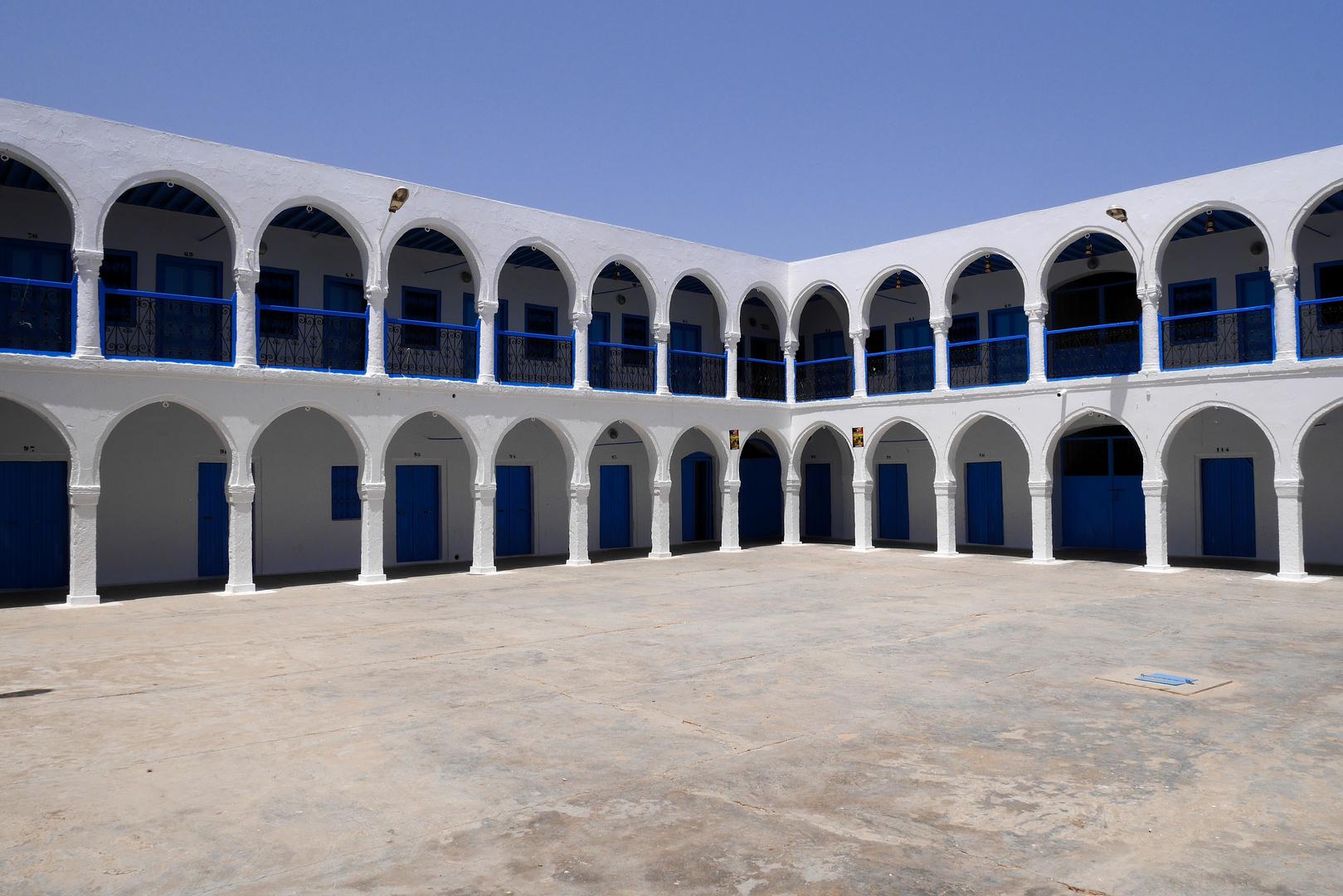 Synagoge La Ghriba -Innenhof