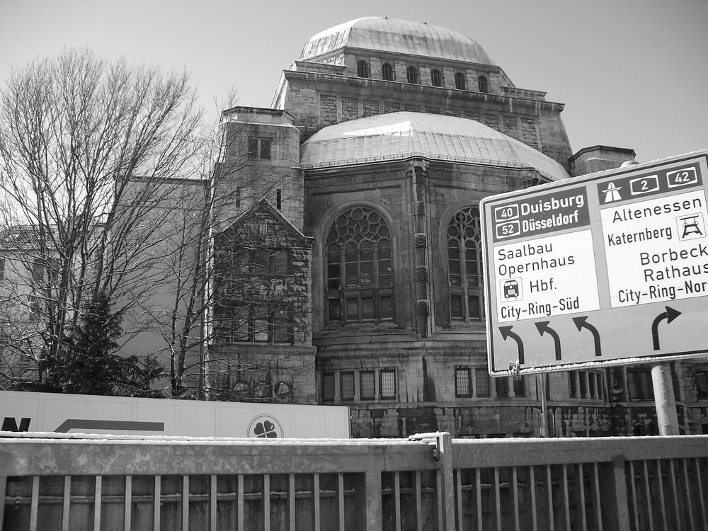 Synagoge Seitenansicht