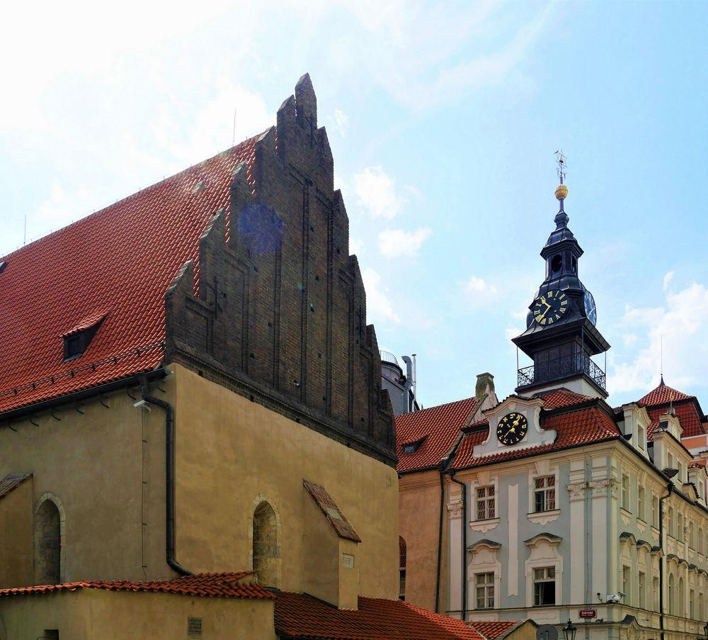 Synagoge und jüdisches Rathaus ...