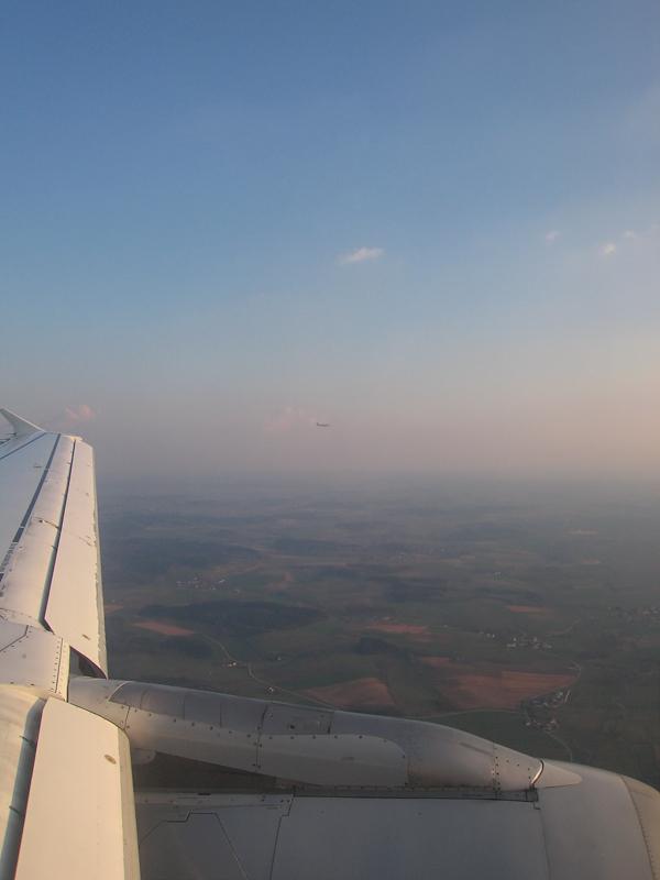 Synchron-Landung in MUC