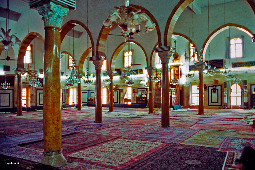 Syrien - Damaskus Moschee Innenraum