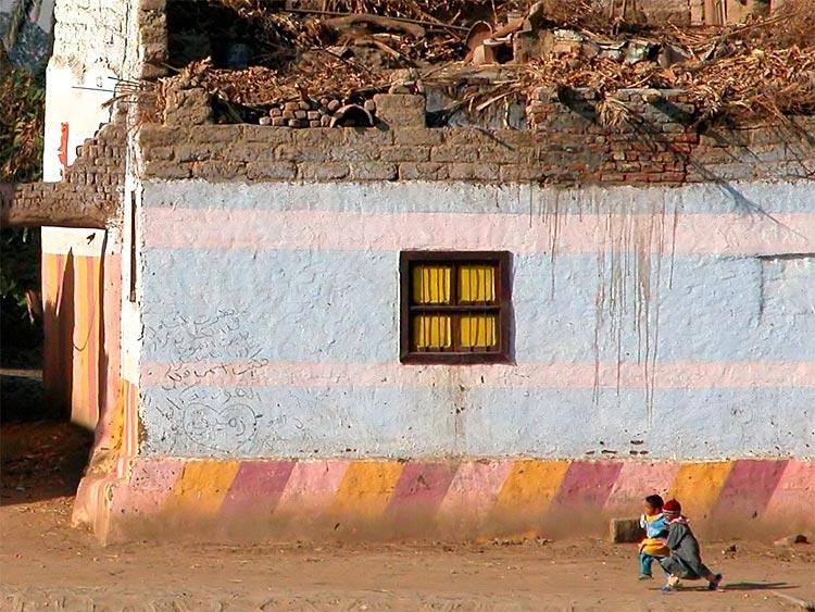 Szene im Dorf - Ägypten 22