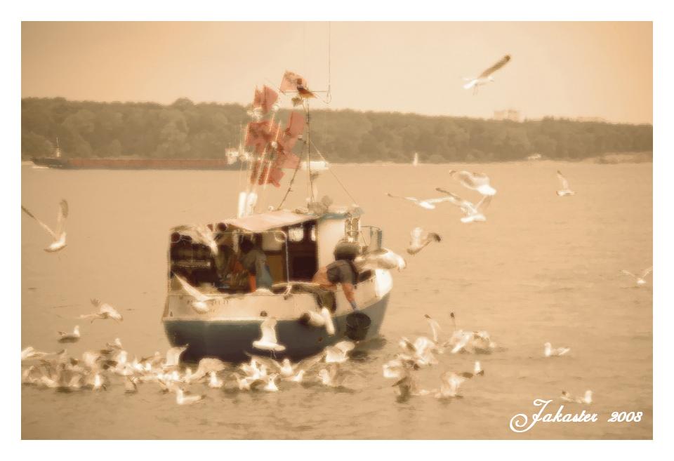 ~ Szene im Hafen ~