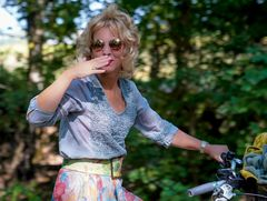 Szenenwechsel... on bicycle tour aigain...