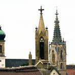 Szenerie über den Dächern.