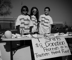 T Shirts Sale for Teachers Medical Relief Fund