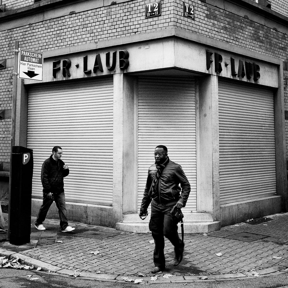 T2 (Two Men At The Closed Shop)