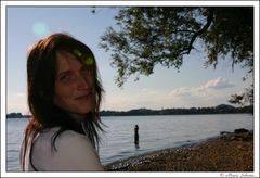 Tabea am Bodensee