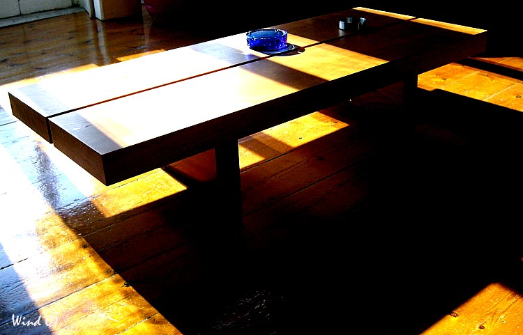 Table and shadows