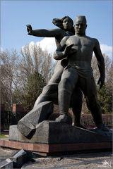 Tachkent - Mémorial au tremblement de terre du 26 avril 1966