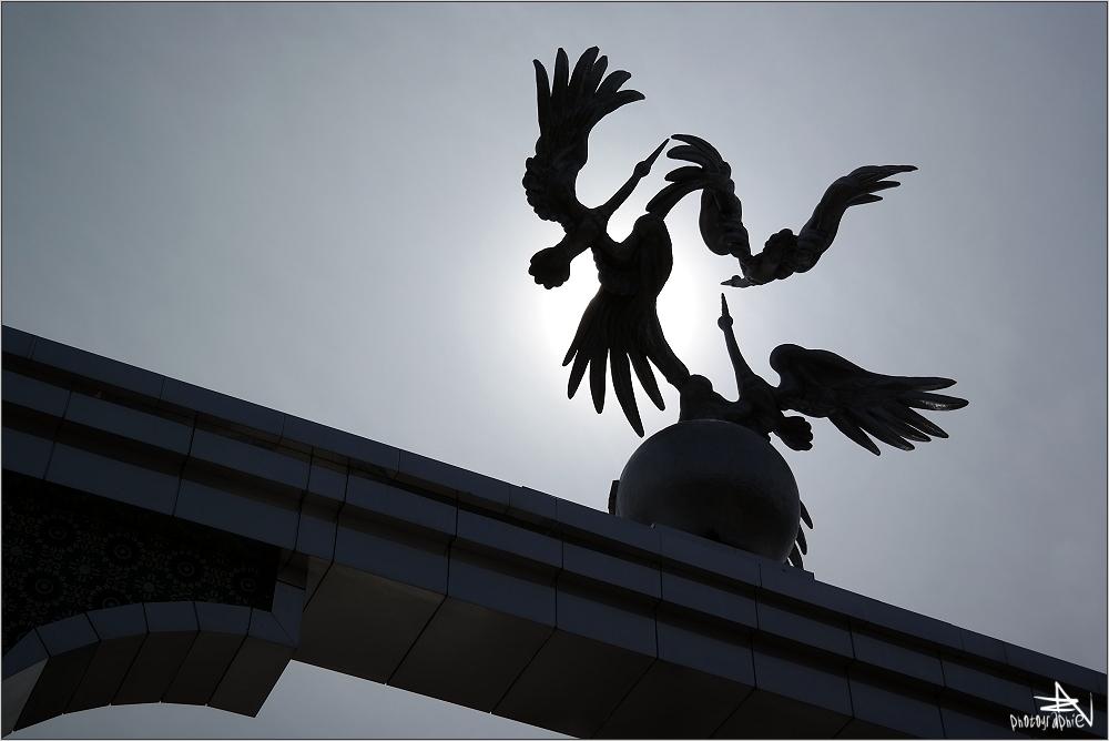 Tachkent - Place de l'Indépendance