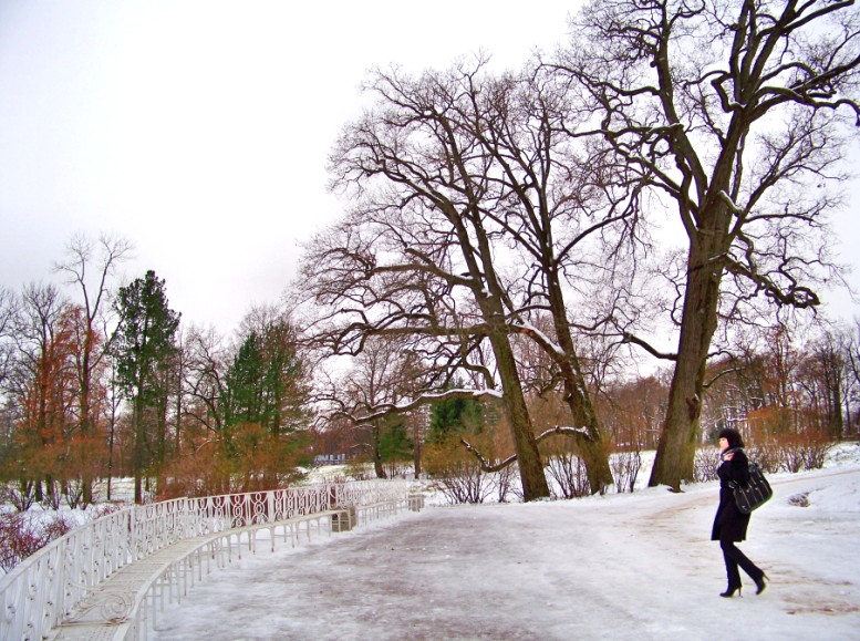 Tacones en la nieve