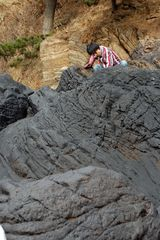 Taean Oil Spill Coverage, Black against the Back