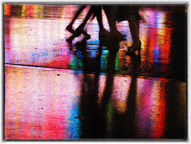 Tänzchen im Regen
