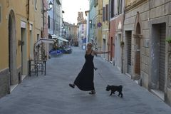 Tänzchen in Asciano