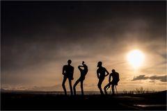 """""""Tänzer"""" auf dem Öskuhlid..."""