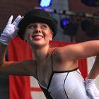 Tänzerin des Ensembles Kielce