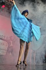 Tänzerin des Tanzensembles Kielce