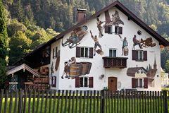 Tätowiertes Haus