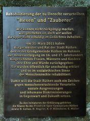 Tafel am Hexenturm 2