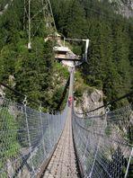 Tag 11: Ziel Handegg (Handeck-Hängebrücke)
