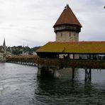 Tag 7: Unser Ziel für diesen Tag: Luzern (Kappelbrücke)