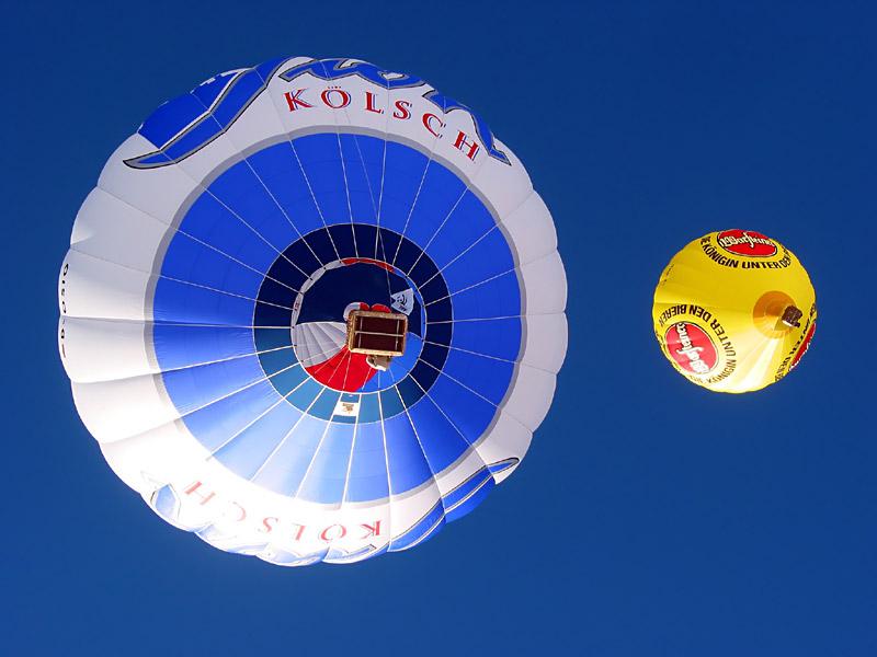 Tag der Ballone in Gosau