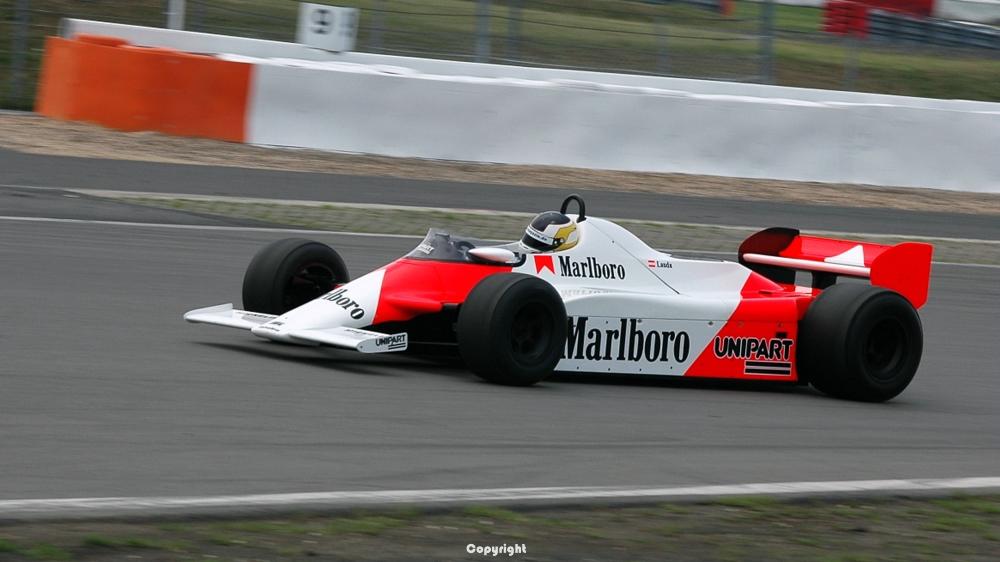TAG Mc Laren Ex Niki Lauda