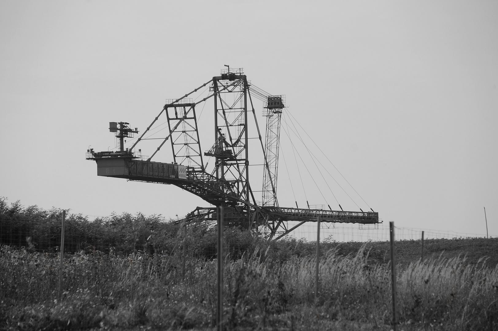 Tagebau als Landmarke
