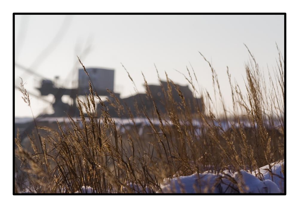Tagebau bei Weißwasser
