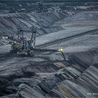 Tagebau Garzweiler ... das große schwarze Loch ...