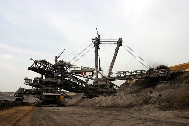 Tagebau Garzweiler - der Bagger
