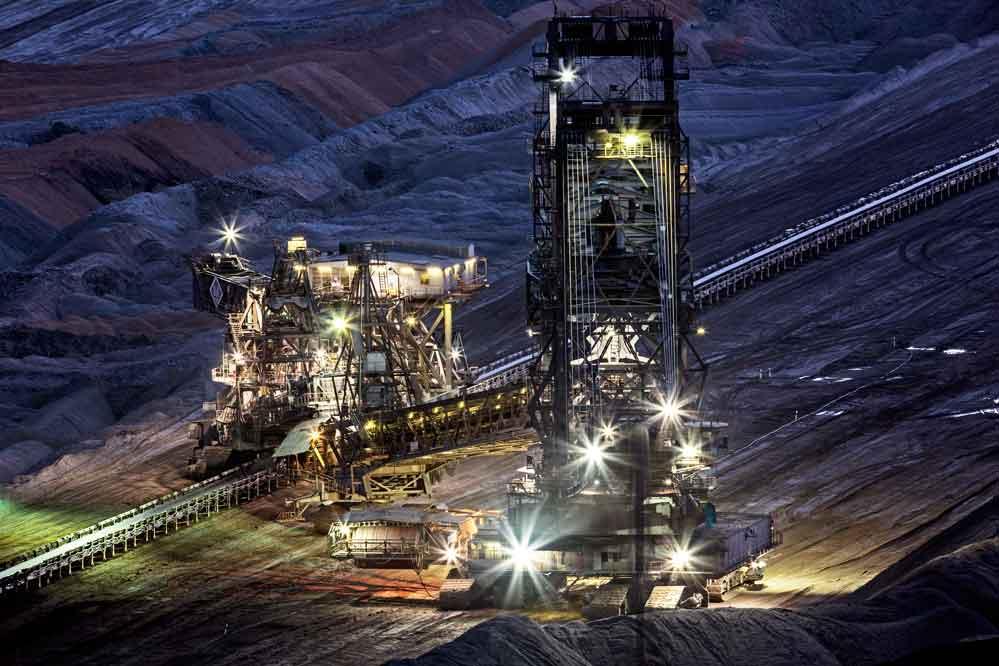 Tagebau Hambach Absetzer