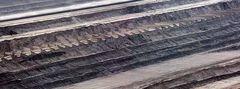 Tagebau Hambach - der perfekte Säge-Schnitt