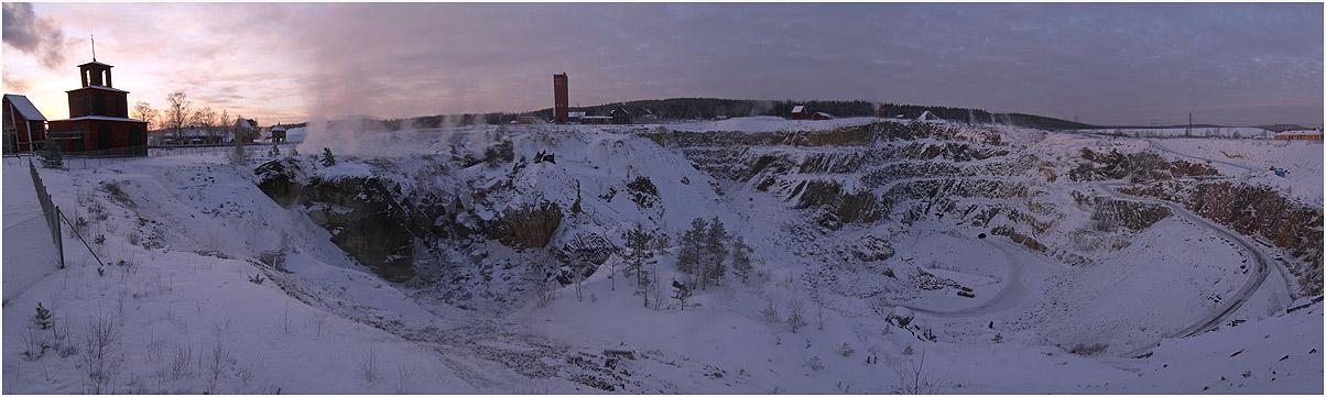 Tagebau in Falun