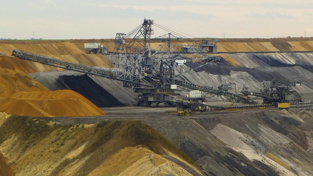 Tagebau-Kohle
