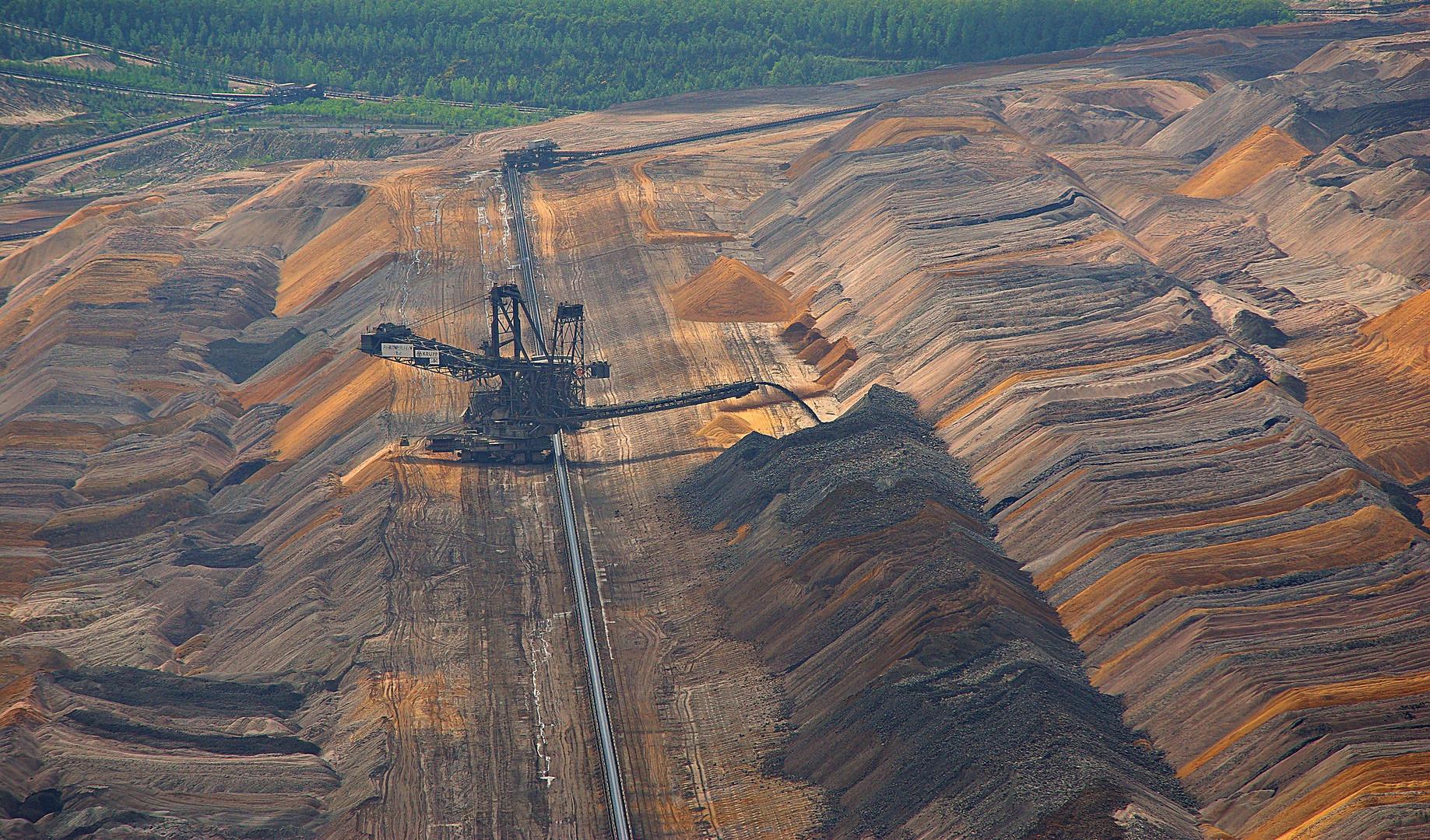 Tagebau - Landschaft