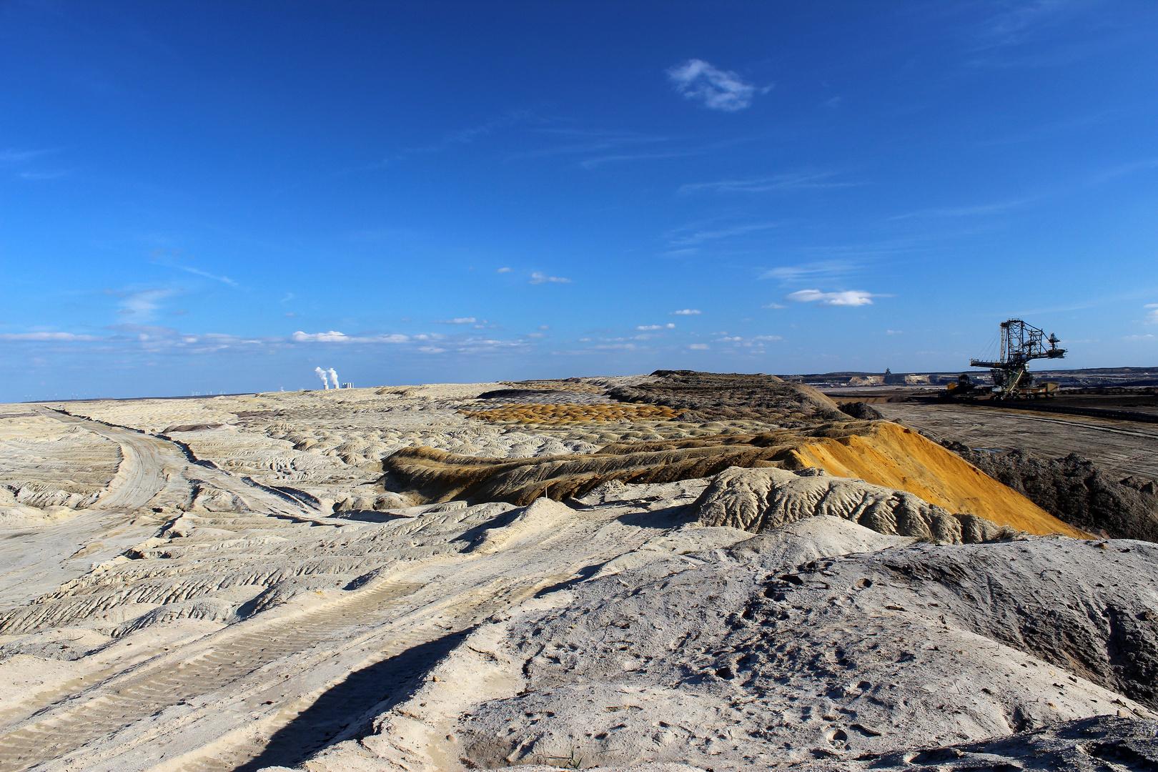 Tagebau Mondlandschaft