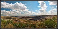 Tagebau-Panorama