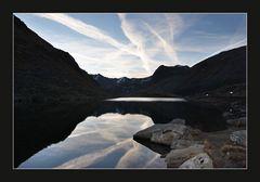 Tagesanbruch am Flüela-Pass