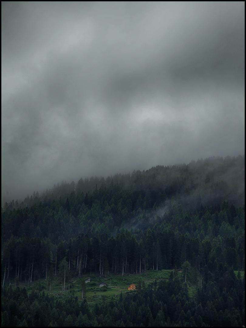 Tagesanbruch in den Alpen