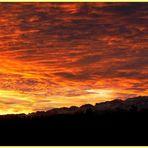 Tagesanbruch über dem Säntis