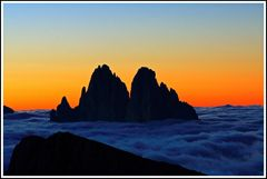 Tagesbeginn auf dem Berg